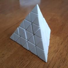 Professor's Snake Tetrahedron