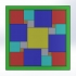 Mosaico 3d printed image