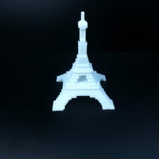 Picture of print of eiffel
