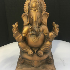 Picture of print of Ganesha