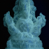 Ganesha print image