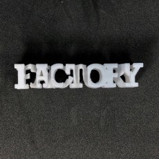 Picture of print of Text Flip, My Mini Factory