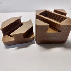 Picture of print of Dove Tail puzzle box simple