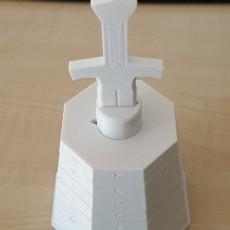 Picture of print of Excalibur Cryptex Puzzle