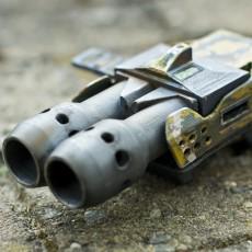 Metal arms : Scatter gun