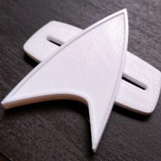 Star Trek Voyager Communication Badge