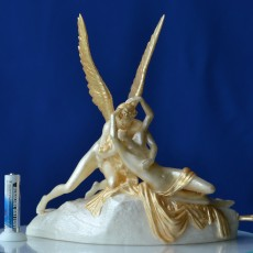 3D Printable Psyche Revived by Cupid's Kiss at The Louvre