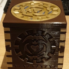 Picture of print of Eternal Hidden Puzzle Box