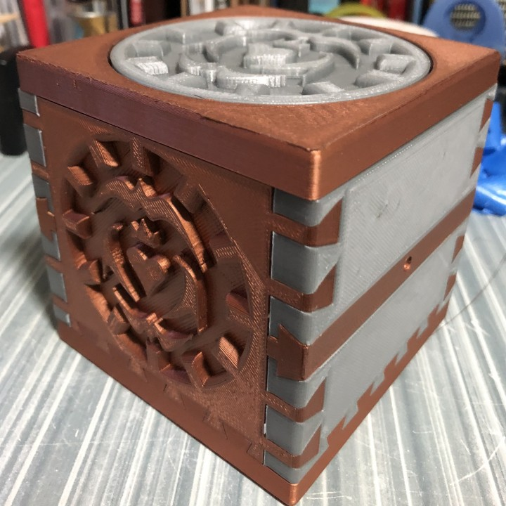 Eternal Hidden Puzzle Box