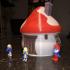 Smurf House print image
