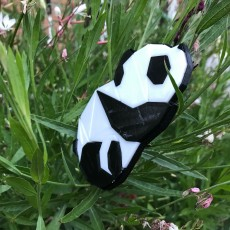 Picture of print of 3D Panda Puzzle This print has been uploaded by Maxfield Dodge