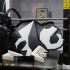 3D Panda Puzzle print image