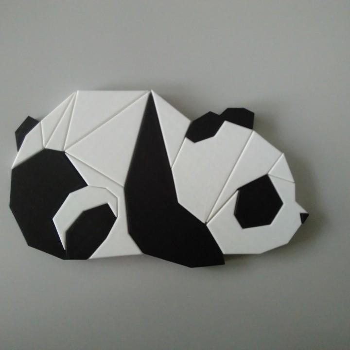 3D Panda Puzzle