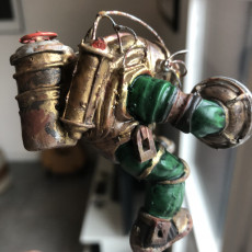 Picture of print of Big Daddy Rigged from Bioshock