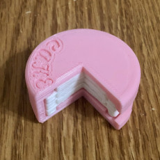 Picture of print of Cake Puzzle