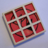 2 layers sliding puzzle print image