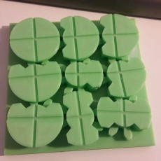 Picture of print of GearBlock puzzle