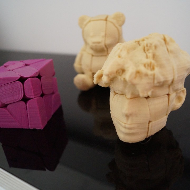 customizable 3d printed rubi´s cube hard to solve easy to customize
