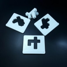 Picture of print of Fit-it-through 3D Puzzle
