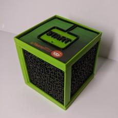 Ball maze cube