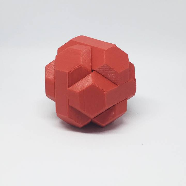 3d Printable Origami Puzzle By Millard Barnabe
