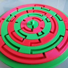 Picture of print of Twisted Maze Puzzle