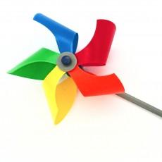 Pinwheel Rainbow Star #Tinkerfun
