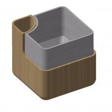 Self Pot Water Rectangular