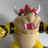 Bowser from Mario games - Multi-color print image