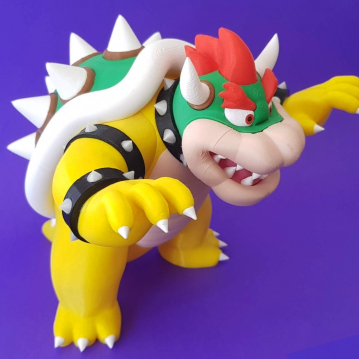 Bowser from Mario games - Multi-color