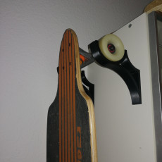 Picture of print of Wallmount for Longboards