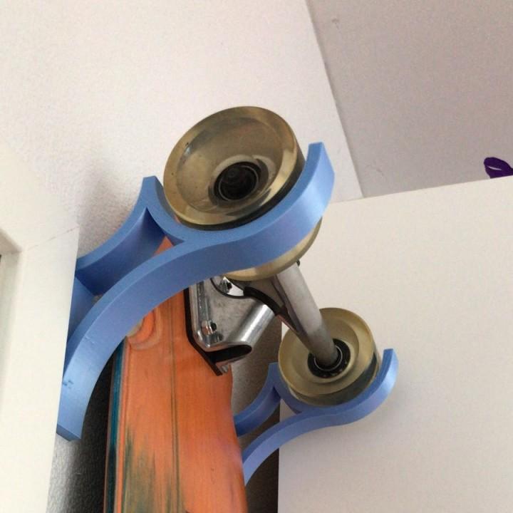 Wallmount for Longboards