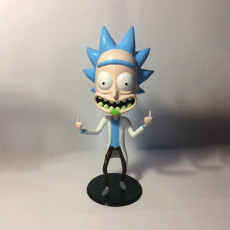 "Picture of print of Morty Bobble Head de ""Rick and Morty"""