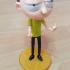 "Morty Bobble Head de ""Rick and Morty"" print image"