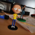 "Morty Bobble Head de ""Rick and Morty"" print image"