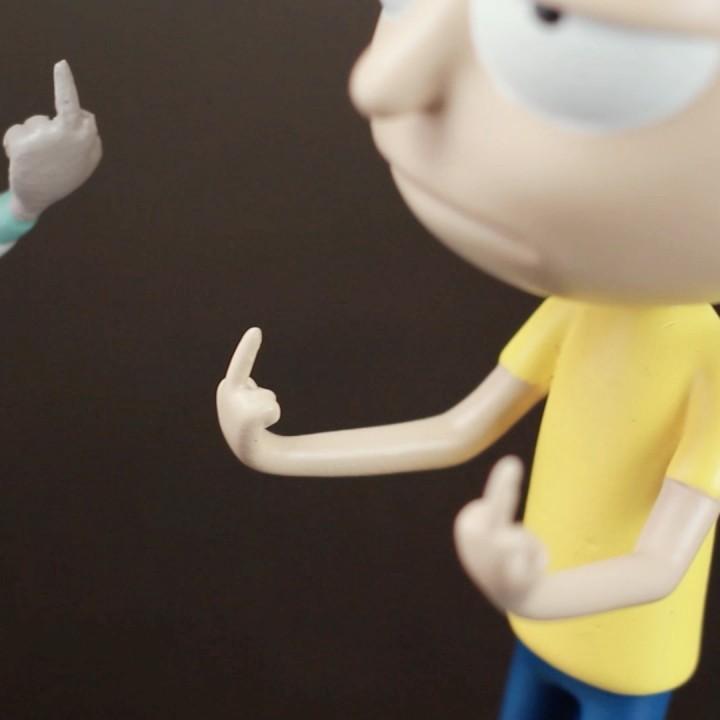 Morty Bobble Head de  Rick and Morty