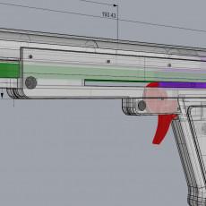 Picture of print of Elastic gun