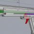 Elastic gun print image