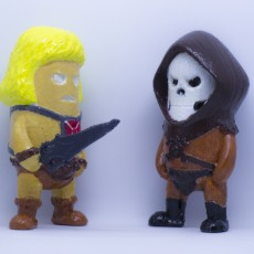 Picture of print of Mini He-man - Masters of the Universe This print has been uploaded by kreso