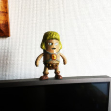 Picture of print of Mini He-man - Masters of the Universe
