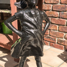 Picture of print of Fearless girl
