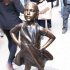 Fearless girl image