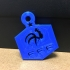 Football World Cup France Key Chain image