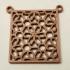 Moroccan-Style Geometric Pattern Pendant image