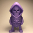 Mini Skeletor - Masters of the Universe print image