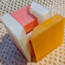 Picture of print of Puzzle Cube (easy print no support)