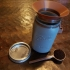CWCDesigns Coffee scoop, scoop holder, and funnel for mason jar image