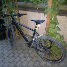 CatEye rear bike light holder (for eg. TL-AU100)