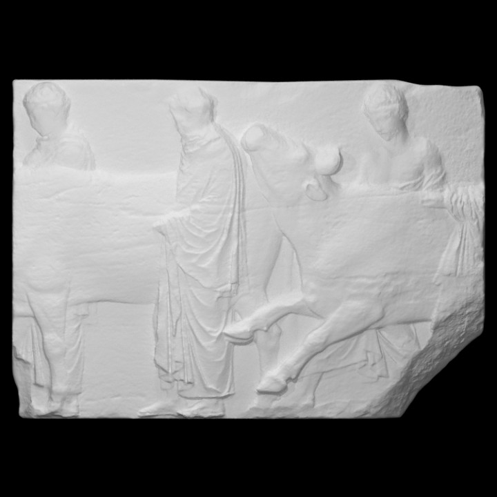 Parthenon Frieze _ North II, 3-5