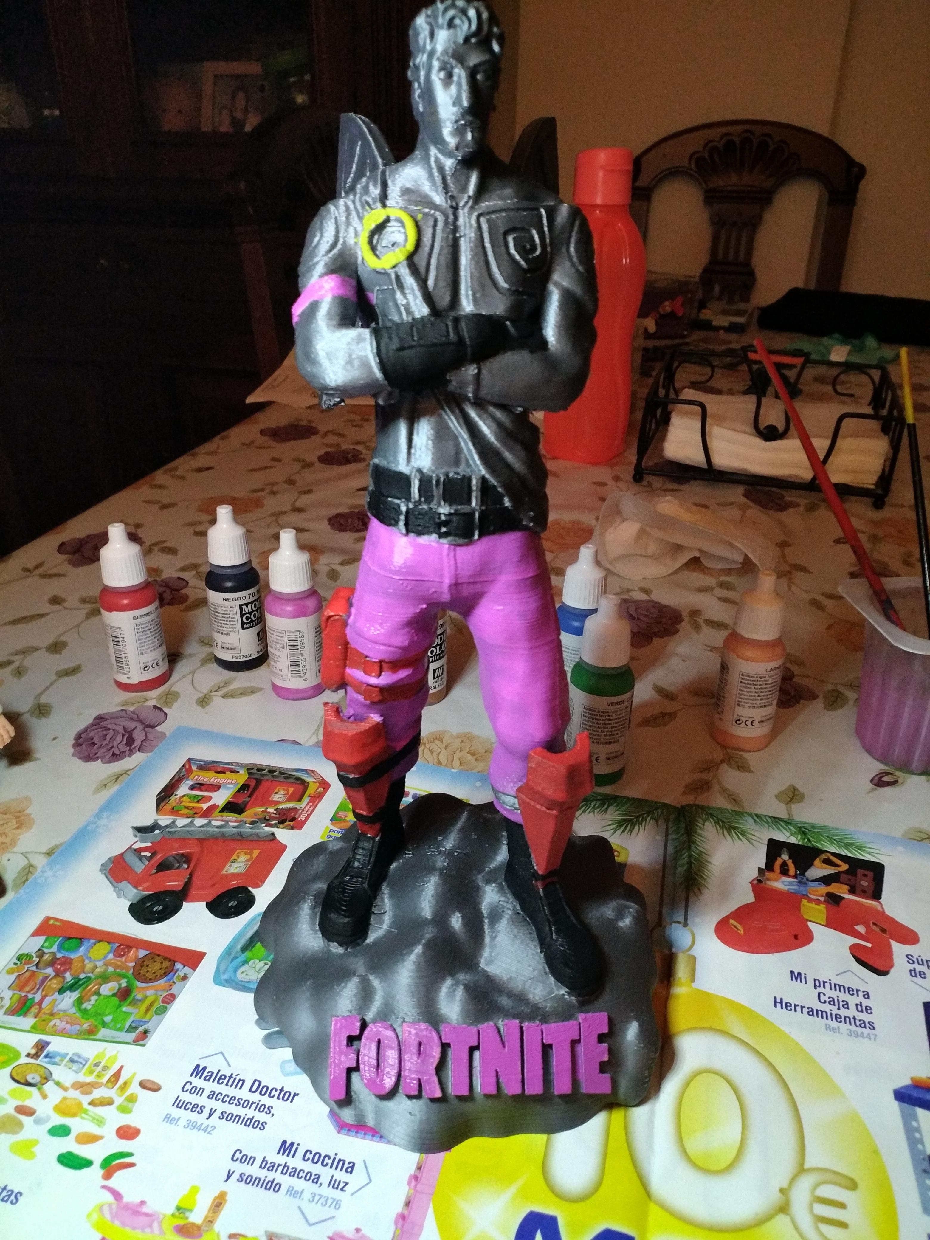 3D Printable Fortnite - Love Ranger - 28cm tall by Fotis Mint